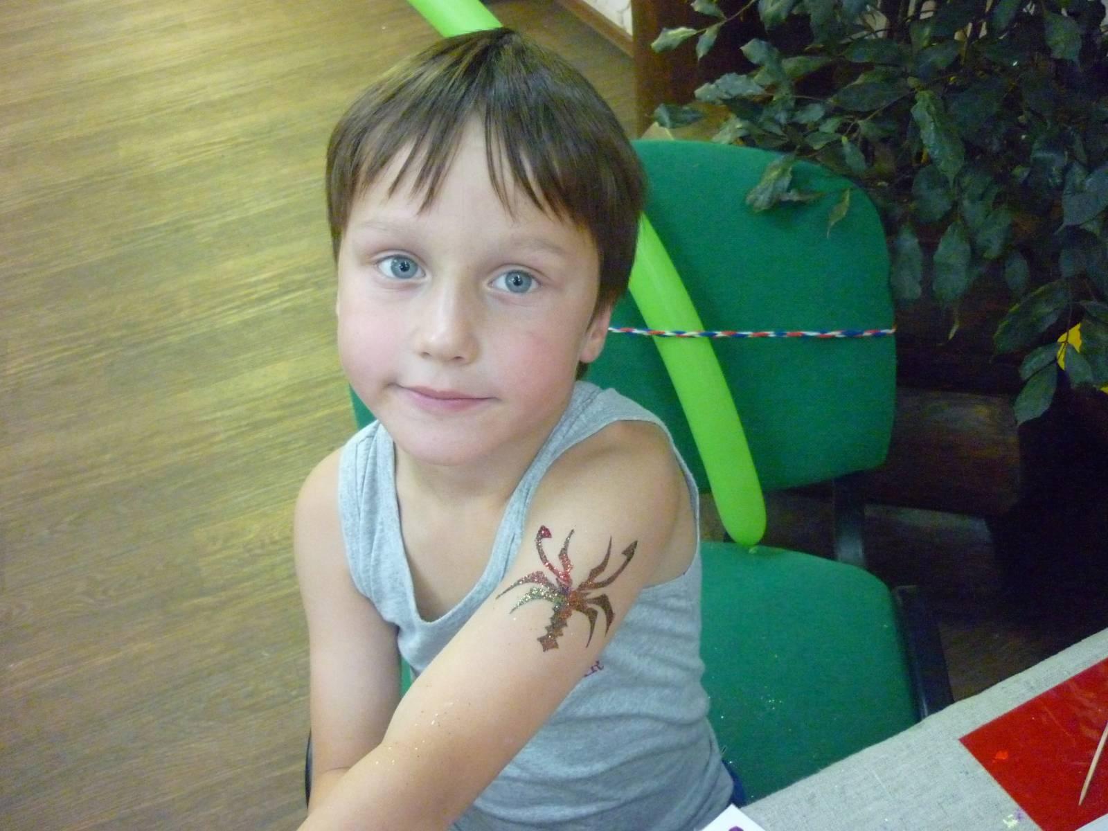 Фото тату для детей с 8 лет